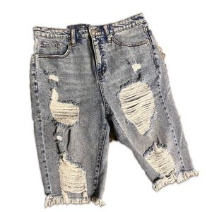Wild Fable Distressed Jean Shorts